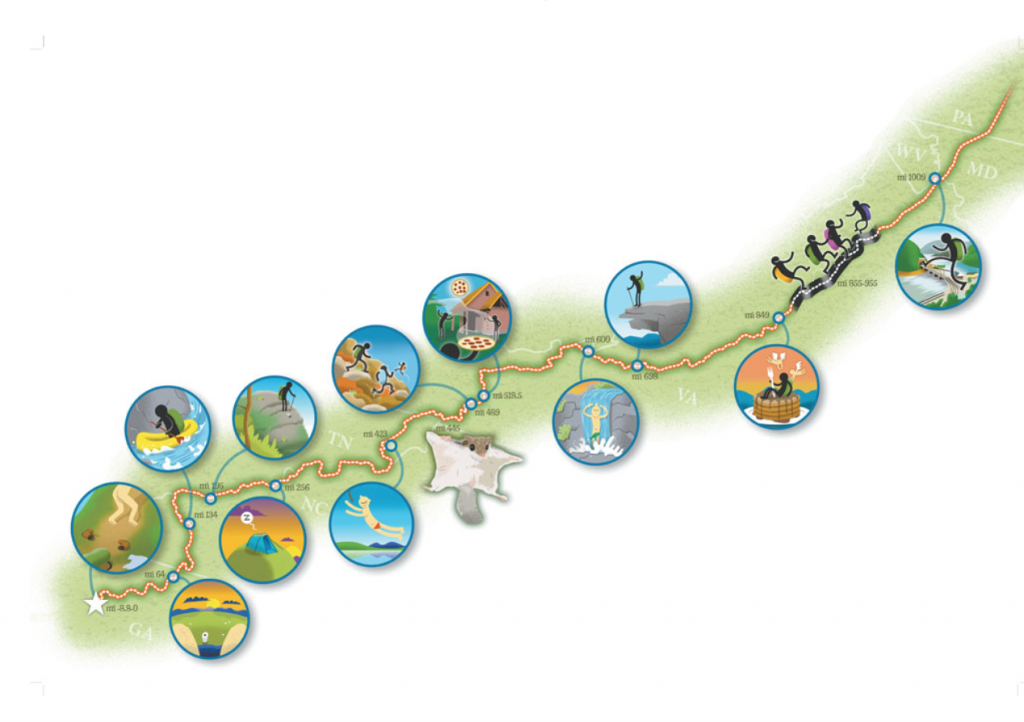 Interactive Guide to the Appalachian Trail