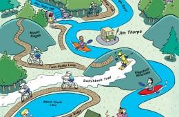 Blue Ridge Outdoors guide to Jim Thorpe, P.A.