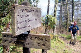 Johnny Molloy does not want a trail name