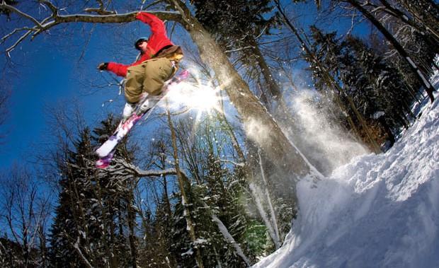 Ski and snowboard races around the Blue Ridge