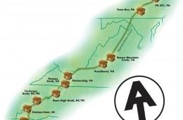 AT Shelter Map