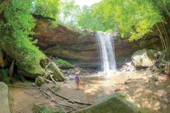 Cucumber Falls at Ohiopyle