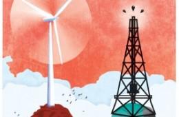 Offshore oil vs. offshore wind