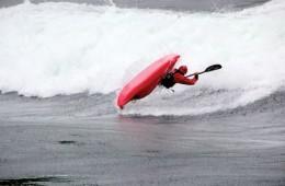 freestyle whitewater kayaking