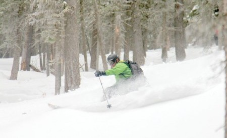 John Regan Skiing