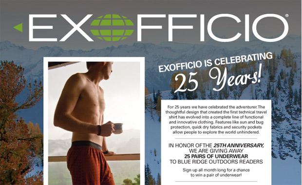 exofficio giveaway