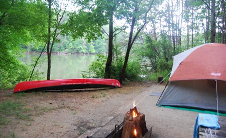 Canoe Camping The Catawba River