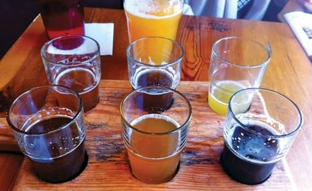 Chattanooga's Terminal Brewhouse offers some of the best locally crafted suds in the South.