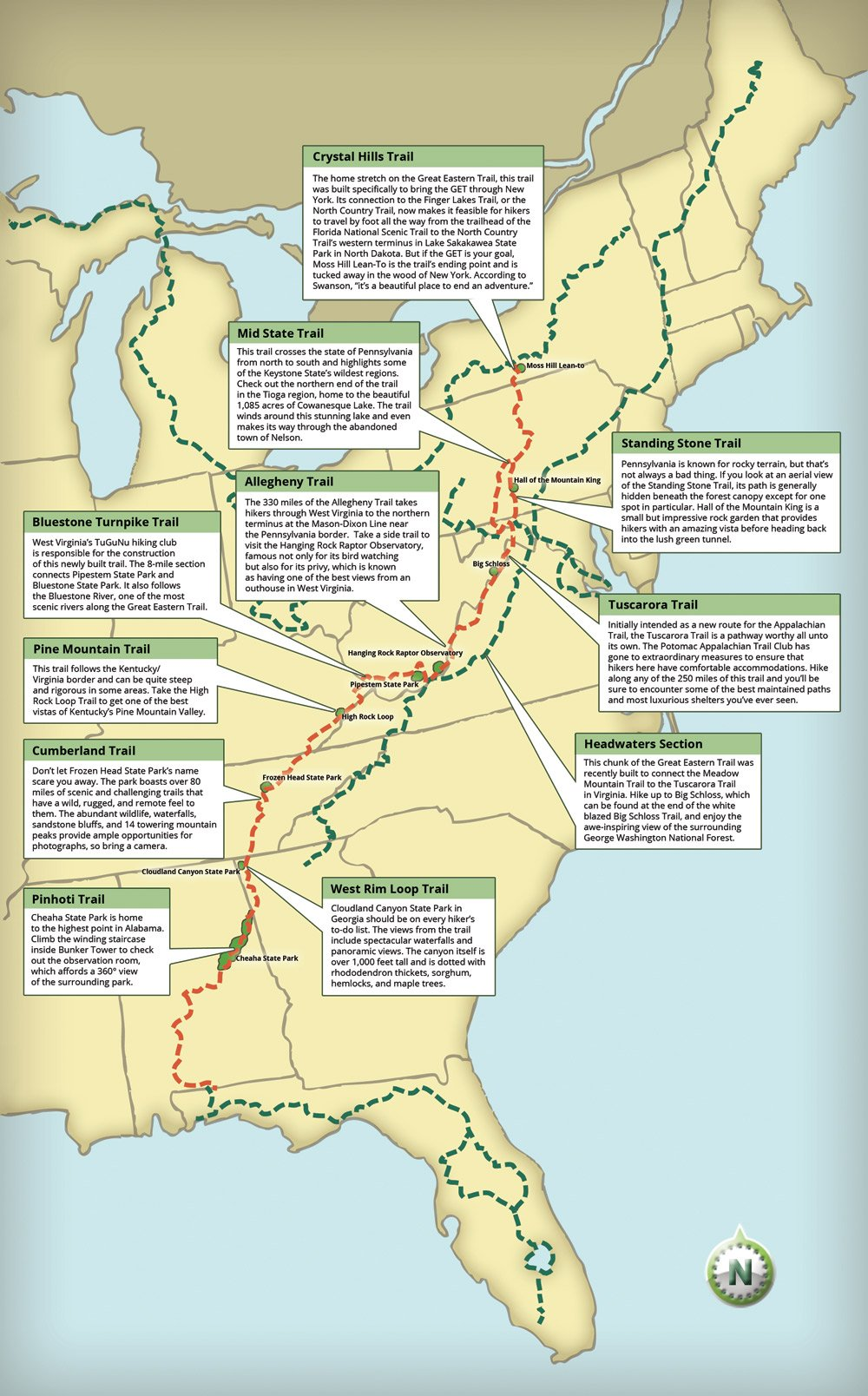 The Great Eastern Trail Could Become the New Appalachian Trail on