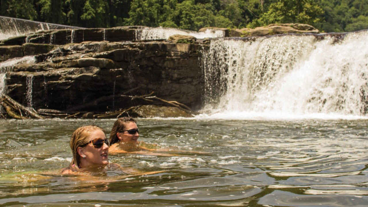 A guide to the best swimming hole jumps in the Southeast