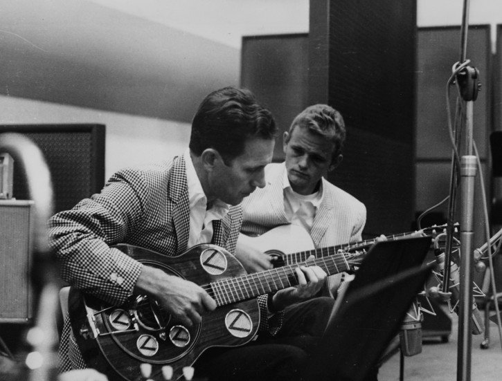 DCNC-Nashville_Cats_Chet_Atkins,_Jerry_Reed_01