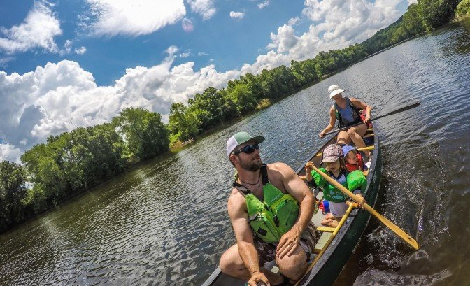 Ten Tips For Canoeing With Kids