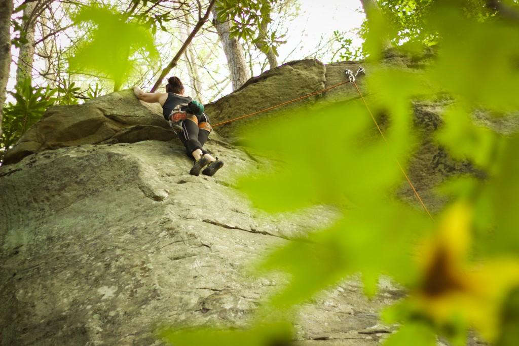 ClimbingNewRiverGorge