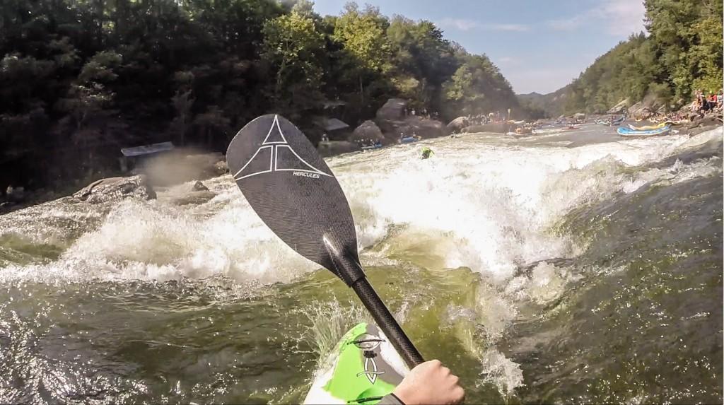 UpperGauley_SweetsFalls_kayakPOV