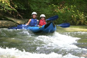 Canopy kayak