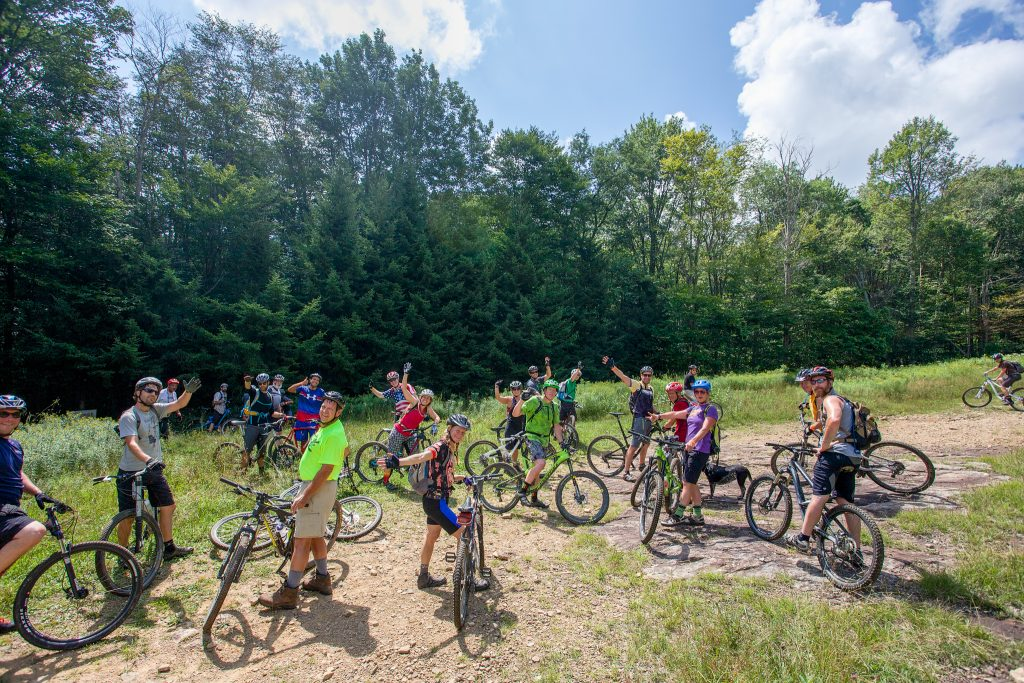 The weekly Blackwater Bikes Ride @ 5ish is a great way to experience the local trails. Check it out every Thursday!