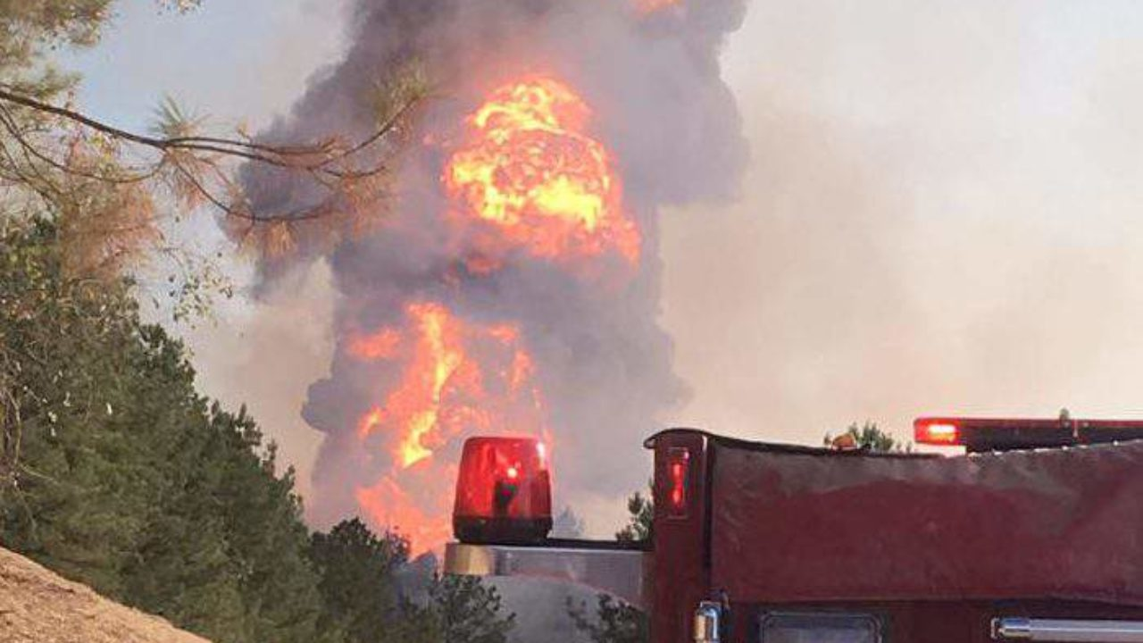 Alabama Pipeline Explodes