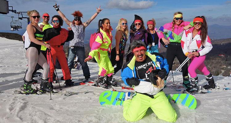 Totally '80s Retro Ski Weekend