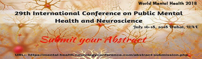 29th International Conference on Public Mental Health and Neuroscience