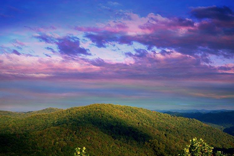 Prestonsburg, KY Mountains