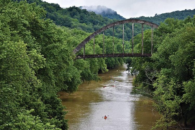 Kayaking in Prestonsburg