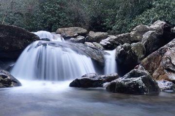 iphone long exposures of waterfalls