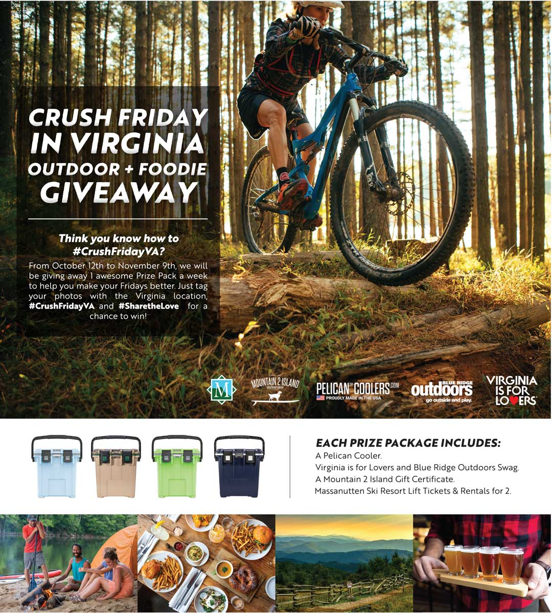 Bike magazine giveaways contests