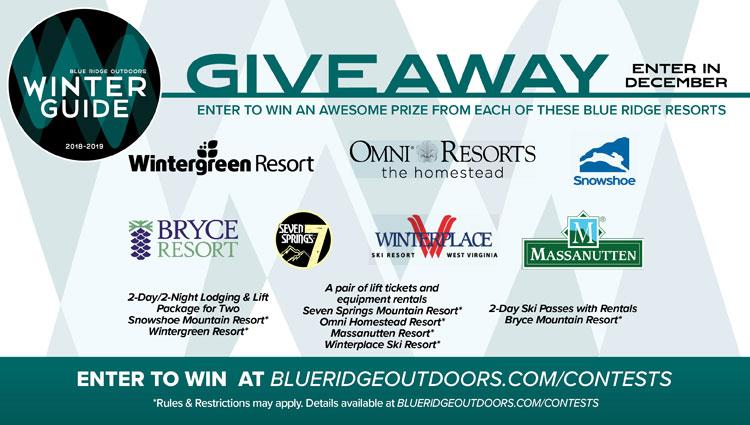 Contests   Blue Ridge Outdoors Magazine