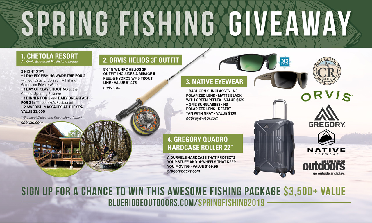 FISHING GIVEAWAY CONTESTS