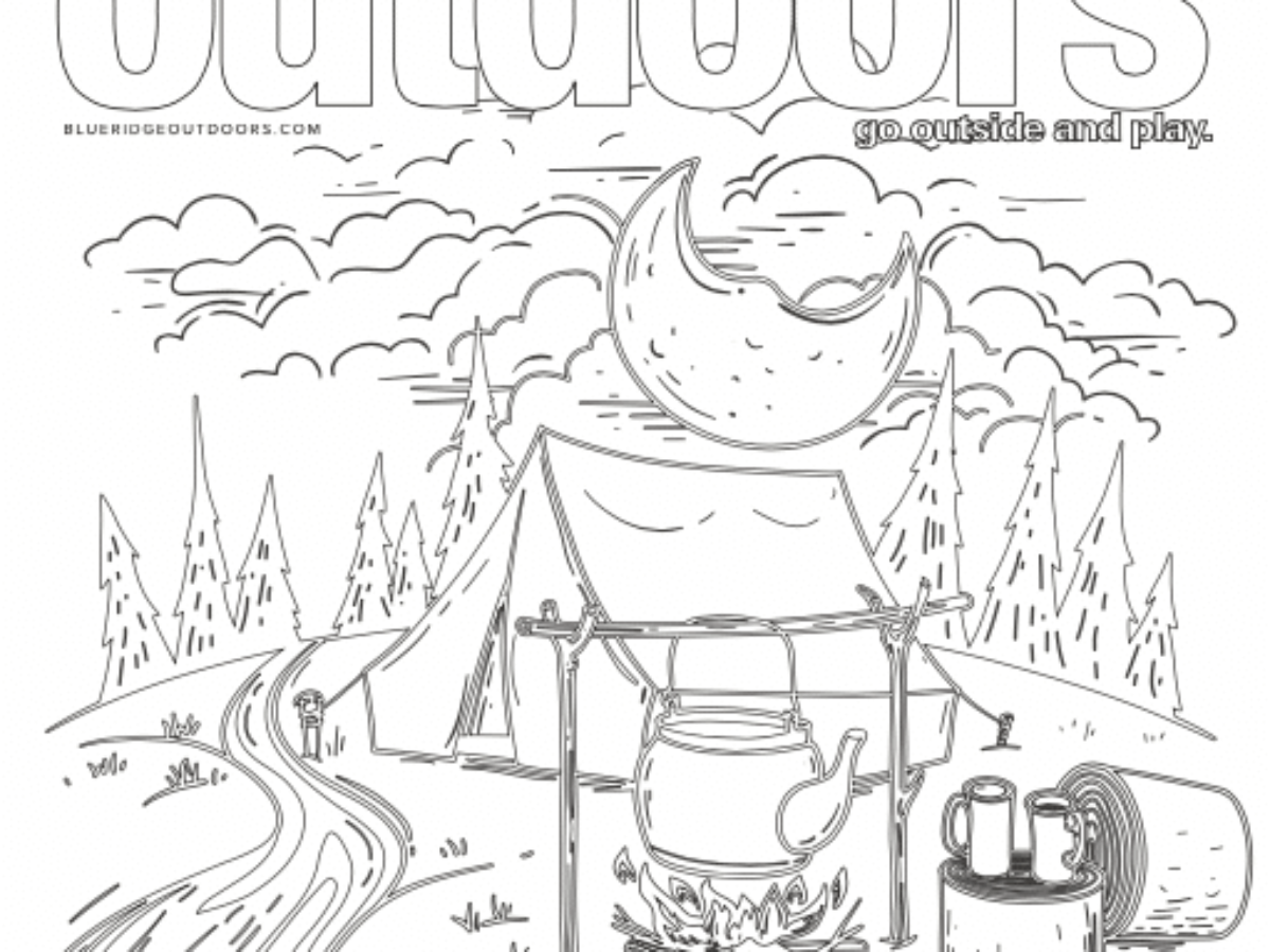 Free Outdoor Coloring Pages